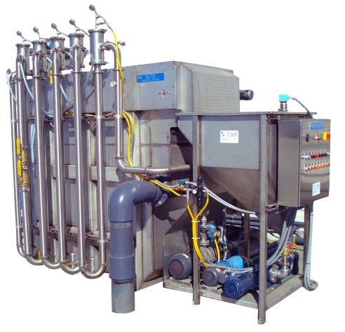 GEM system spildevand rensningssystem CWT